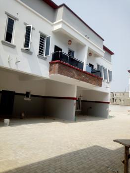 Service 4 Bedroom Terrace Duplex, Orchid Hotel Road, Lafiaji, Lekki, Lagos, Terraced Duplex for Rent