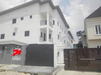 Newly Built 3 Bedroom Terrace House with Bq, Chevron, Idado, Lekki, Lagos, Terraced Duplex for Rent
