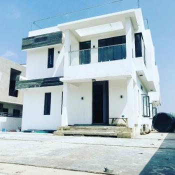 Contemporary 5 Bedroom Fully Detached Duplex with 2 Rooms Staff Quarters, Pinnock Beach Estate, Osapa, Lekki, Lagos, Detached Duplex for Sale