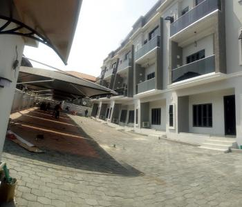 Newly Built Luxury Fully Serviced 24hours 4 Bedroom Terrace House on 3 Floors with Dedicated Parkings, Swimming Pool and Gym, Off Kusenla, Ikate Elegushi, Lekki, Lagos, Terraced Duplex for Sale