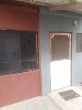Very Clean and Portable Room Self Contained, Off Bassey Street, Egbeda, Alimosho, Lagos, Self Contained (single Rooms) for Rent