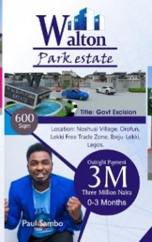 Walton Park Phase 1 (buy 2 Get 1 Free), Ogogoro, Ibeju Lekki, Lagos, Residential Land for Sale