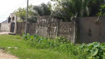 2 Plots Fenced Together, Okota, Ago Palace, Isolo, Lagos, Residential Land for Sale