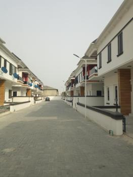 Brand New 4 Bedroom Terrace Duplex to Let in a Mini Estate, Lekki Conversation Road, By 2nd Toll Gate, Lekki Expressway, Lekki, Lagos, Terraced Duplex for Rent