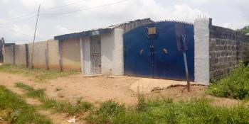 Standard 3 Bedroom Bungalow Fenced with Gate on One and Half Plots, Peculiar People, Elekor, Via Iju Market Bus Stop, Atan Ota, Ado-odo/ota, Ogun, Detached Bungalow for Sale