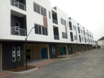 Massive  Service Luxury Newly  Built 3 Bedroom Terrace Duplex with  1 Bqs and  Swimming Pool, Gym, Osapa, Lekki, Lagos, Terraced Duplex for Sale