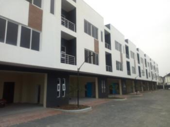 Service Luxury Newly  Built 3 Bedroom  Terrace Duplex with  1bqs  and  Swimming Pool, Gym, Osapa, Lekki, Lagos, Terraced Duplex for Rent