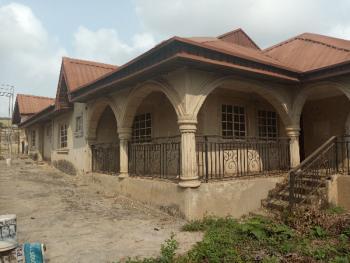 Distress Uncompleted Tastefully Built Twin Bungalow at Elebu, Araromi Estate, Elebu, Off Akala Express, Challenge, Ibadan, Oyo, Terraced Bungalow for Sale