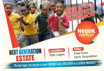 30 Plots of Land Facing Express   (farm Land Available Also), Epe, Lagos, Mixed-use Land for Sale