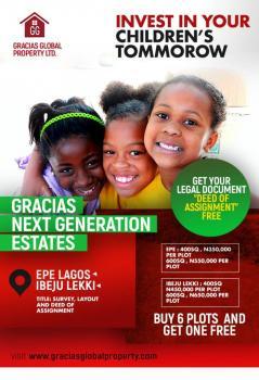 Special Land for Your Kids on Childrens Day., Ibeju Lekki, Okun Imedu, Ibeju Lekki, Lagos, Mixed-use Land for Sale