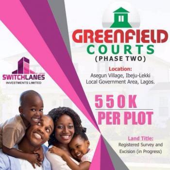 Greenfield Court Ii, Lapekun, Ibeju Lekki, Lagos, Residential Land for Sale