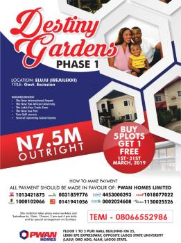 Destiny Gardens Phase 1, Eluju, Ibeju Lekki, Lagos, Mixed-use Land for Sale