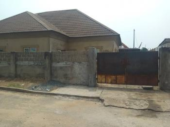 Brand New 4 Bedroom Detached Bungalow with Bq (70% Completed) + Gym on 500m2 Land, Close 43, Satellite Town, Ojo, Lagos, Detached Bungalow for Sale