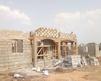 Three Bedroom Bungalow with Bq, Parking Lot and Garden; Estate House, Behind Law School, Opposite Jamb Estate, Bwari, Bwari, Abuja, Detached Bungalow for Sale