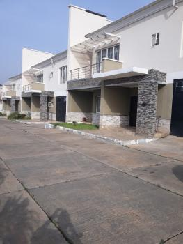 Masterfully Built & Serviced 4 Bedrooms Terrace Duplex with Servant Quarters, Off Aminu Sale Crescent, Katampe Extension, Katampe, Abuja, Terraced Duplex for Rent