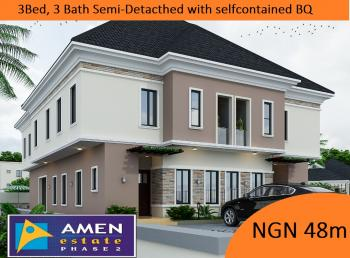 3 Bedroom Semi-detached Duplex, Eleko, Ibeju Lekki, Lagos, Detached Bungalow for Sale
