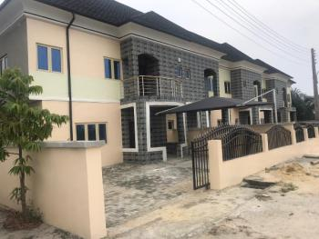 Semi Finished 3 Bedrooms Terraced Duplex with Attached Bq, Beach View Road, Ogombo, Ajah, Lagos, Terraced Duplex for Sale