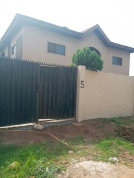 a Fantastically Solid Building of a Block of 4 Numbers of 3 Bedrooms Flats on Full Standard Plot of Land with Good Facilities Etc, By Tipper Garage, Akute, Ifo, Ogun, Block of Flats for Sale