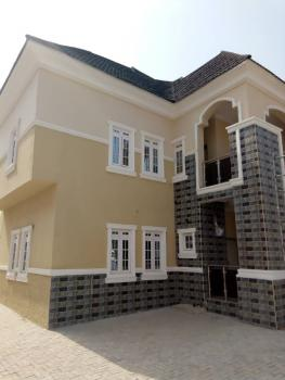 Luxurious 5 Bedrooms Duplex, 3 Sitting Rooms, 2 Units of Self Contained Bq, All En Suite with a Gate House, Efab Metropolis Estate, Karsana, Abuja, Detached Duplex for Sale