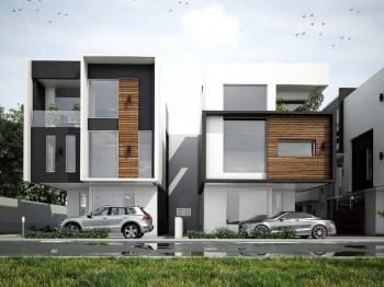 an Off Plan 5 Bedroom Semi-detached Duplex with a Room Bq, Lekki, Lagos, Semi-detached Duplex for Sale