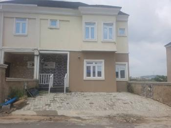 3 Bedrooms Semidetached Duplex with One Room Study, Well Finished, Porch Terrace Estate, Mbora, Abuja, Terraced Duplex for Sale