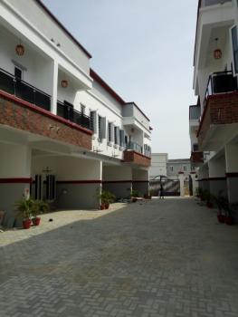 Luxury Serviced 4 Bedrooms Terrace Duplex in a Mini Estate, Orchid Road, Chevron Tollgate, Lekki Expressway, Lekki, Lagos, Terraced Duplex for Sale