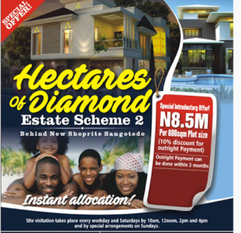 Plot of Land, Behind The Novare Mall (new Shoprite), Sangotedo, Ajah, Lagos, Residential Land for Sale