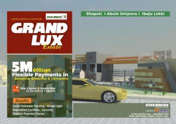 600sqm Plots, Alatise, Ibeju Lekki, Lagos, Residential Land for Sale