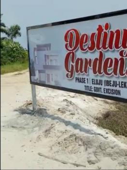 Land with Approved Excision, Destiny Gardens Phase 1 Estate, Eluju, Ibeju Lekki, Lagos, Mixed-use Land for Sale