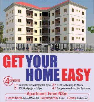Executive 3 Bedroom Flat on Mortgage Plan, Isheri North, Behind Magodo Phase 2, Isheri North, Lagos, Terraced Duplex for Sale