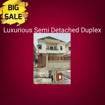 Luxury Semidetached Duplexes, Chevron, Eleganza 1min Drive From The Express, Lekki Expressway, Lekki, Lagos, Semi-detached Duplex for Sale
