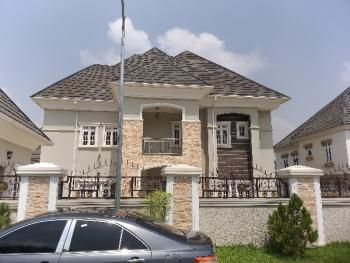 Fully Detached 5 Bedroom Duplex with 2 Room Boys Quarters, Kubwa Express Way, Karsana, Abuja, Detached Duplex for Sale