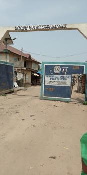 Land Measuring 650sqm, Peace Estate, Iba, Ojo, Lagos, Mixed-use Land for Sale