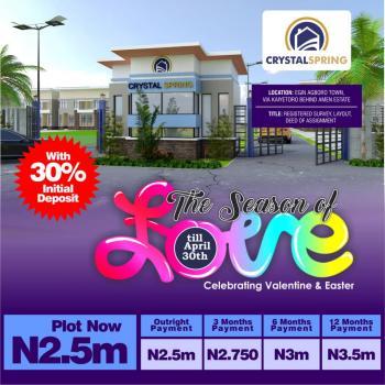 Affordable Land, Egin Agboro Town Via Kaiyetoro Behind Amen Estate, Ibeju Lekki, Lagos, Residential Land for Sale