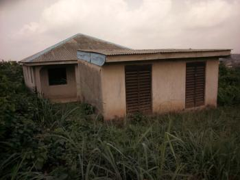 Bungalow with 6 Rooms & 2 Shops Completed with Tiles, Ojigo, Ogun, Detached Bungalow for Sale