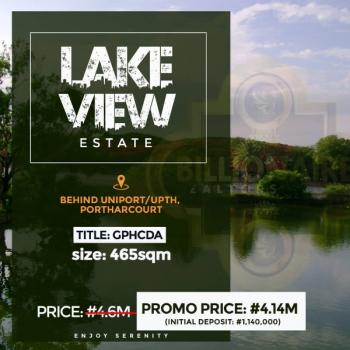 Lakeview Estate Portharcourt, Behind Uniport, Port Harcourt, Rivers, Land for Sale
