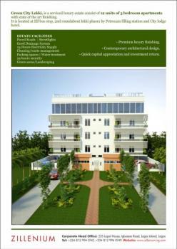 Exclusive 3 Bedroom Apartments, Goshen Estate Street, Lekki Phase 1, Lekki, Lagos, Flat for Sale