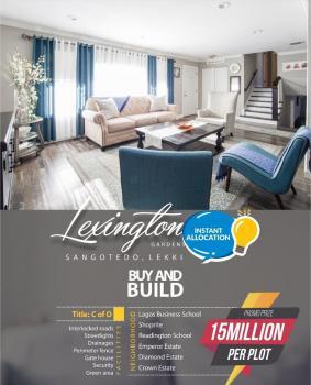 Lexington Gardens Sangotedo, Off Novare Mall Sangotedo, Sangotedo, Ajah, Lagos, Residential Land for Sale