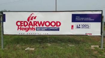 Dry and Genuine Plots Up for Grabs, Cederwood Heights, Close to La Campaign Tropicana Resort, Mafogunde, Ibeju Lekki, Lagos, Residential Land for Sale