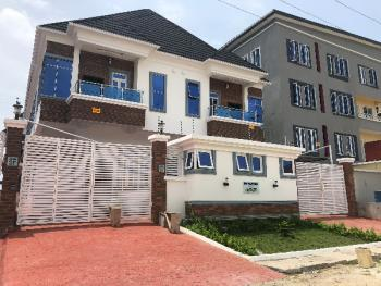 Luxury 4 Bedroom Semi Detcahed with Bq in Gated Estate, After Chevron Roundabout, Lekki Expressway, Lekki, Lagos, Semi-detached Duplex for Sale