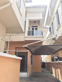 Lovely and Spacious 4 Bedroom Semi Detached Duplex with Private Compound and Fitted Kitchen, Chevy View Estate, Lekki, Lagos, Semi-detached Duplex for Rent