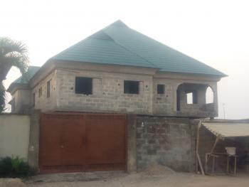 House Consisting of Five Bedroom Duplex and Two Numbers of Three Bedroom Flat Inside an Estate, Akesan, Akesan, Alimosho, Lagos, Block of Flats for Sale