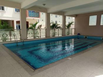 Magnificent Serviced Four Bedroom Town House + Swimming Pool, Grand Ville Estate, Agungi, Lekki, Lagos, Terraced Duplex for Rent