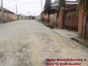 Factory, Kajola Off Lekki Expressway, Ibeju Lekki, Lekki Expressway, Lekki, Lagos, Warehouse for Sale