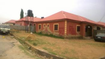 Distress 2 Bedroom Semi Detached Bungalow, Trademore Estate, Lugbe District, Abuja, Semi-detached Bungalow for Sale