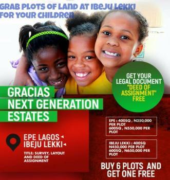 Affordable Plots of Land on Promo, Next Generation Estate, Mafogunde, Ibeju Lekki, Lagos, Residential Land for Sale