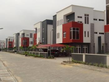 4 Bedroom Semi Detached Duplex (fully Serviced) Sitting on 2 Floors, Osapa, Lekki, Lagos, Semi-detached Duplex for Rent