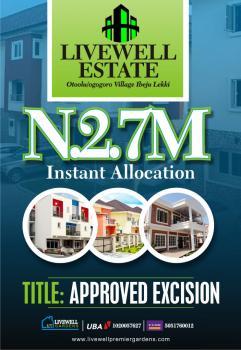 a Plot of Land, Otoolu, Ogogoro, Ibeju Lekki, Lagos, Land for Sale