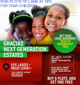 Affordable Plots at Epe on Promo, Besides Nigerian Army Fob, Off Epe-ijebu Ode Exoressway, Epe, Epe, Lagos, Residential Land for Sale
