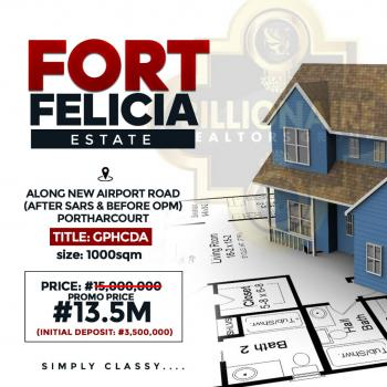 a Plot of Land, Along New Airport Road, After Sars & Before Opm, Port Harcourt, Rivers, Land for Sale